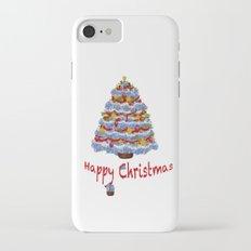 Cape Cod Hydrangea Christmas tree iPhone 7 Slim Case