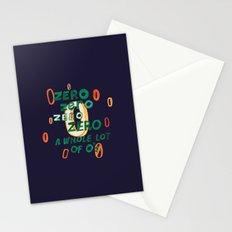 Zero Zero Zero Stationery Cards
