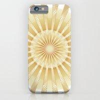 Golden Rays Mandala iPhone 6 Slim Case