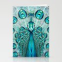 A Peacock Stationery Cards