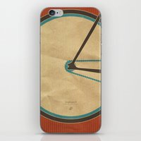 Singlespeed iPhone & iPod Skin