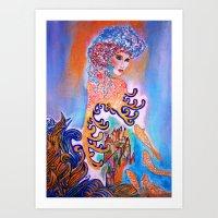 Midnight Sun Art Print