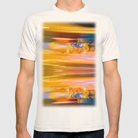 Night Light 131 - Roller Coaster Mens Fitted Tee Natural SMALL
