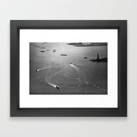 At Liberty Framed Art Print
