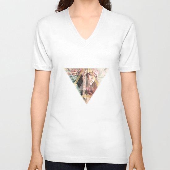 IND Girl V-neck T-shirt