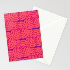 Purple & Orange Stationery Cards