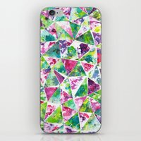 COLLAGE LOVE: Funky Triangles iPhone & iPod Skin