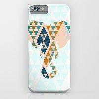 iPhone & iPod Case featuring Gajraj - The Elephant Head by Simi Design