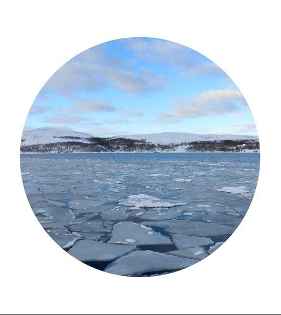 Telescope 9 ice floe Art Print
