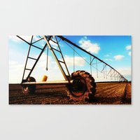 Irrigation System Canvas Print