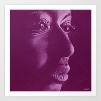 mama africa-violet Art Print