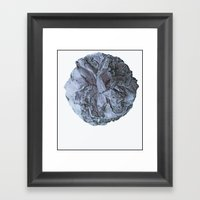Camellia Blu Framed Art Print