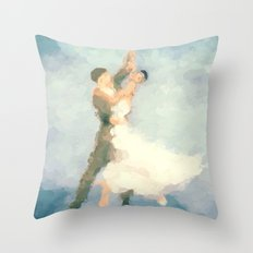 Foxtrot Throw Pillow