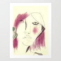 Study #5 Art Print