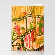 Flowers And Chains Stationery Cards