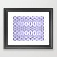 Karthuizer Blue & White … Framed Art Print