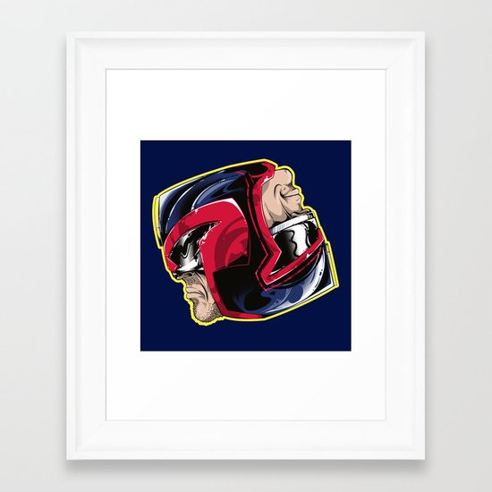 I am the Law! Framed Art Print