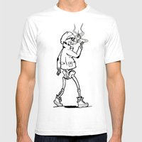 Dead, Before It Was Cool Mens Fitted Tee White SMALL