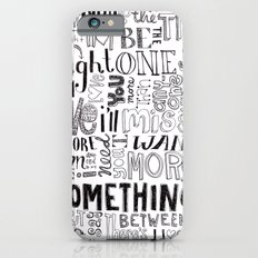 Something About Us iPhone 6s Slim Case
