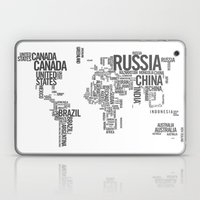 World Map - Atlas Laptop & iPad Skin