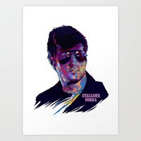 SYLVESTER STALLONE: BAD ACTORS Art Print