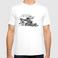 Henry J Mens Fitted Tee White SMALL