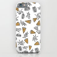 Burgers Pizza And Fries  iPhone 6 Slim Case
