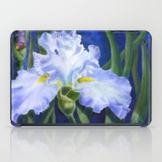 Blue Ruffles iPad Case