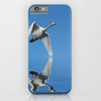 Reflections Of A Swan iPhone 6 Slim Case