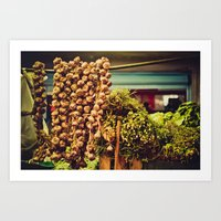 Market goods Art Print