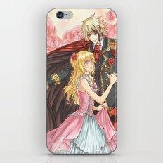 Dancing roses iPhone & iPod Skin
