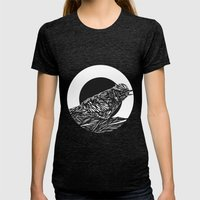 Nest Womens Fitted Tee Tri-Black SMALL
