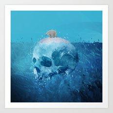 Save the Arctic Art Print