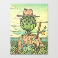 The Hallowed Land of the Monterey Bay Canvas Print