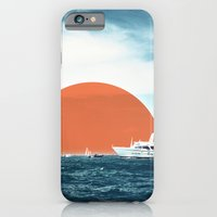iPhone & iPod Case featuring Shipping Sun by theartistmakena