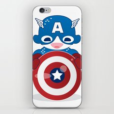 CAPTAIN AMERICA ROBOTIC iPhone & iPod Skin