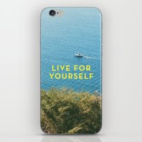 Live For Yourself iPhone & iPod Skin
