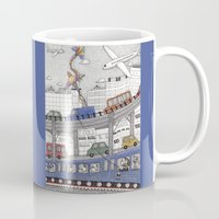 Taking the Red Line Mug