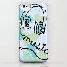 Music iPhone 5c Slim Case