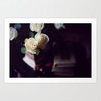 i'd rather have roses Art Print