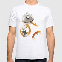 Astromech Beebee-Ate Mens Fitted Tee Ash Grey SMALL