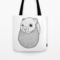 Tote Bag featuring Mr. Rupel's Most Ingenuous Beard for Bears  by Michael C. Hsiung
