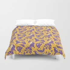 Yellow dreams Duvet Cover