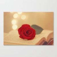 Romance Novel Canvas Print