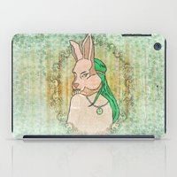 Follow The White Rabbit iPad Case