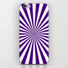 Starburst (Indigo/White) iPhone & iPod Skin