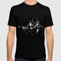Dark Fiction Mens Fitted Tee Black SMALL