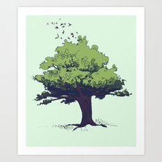 Arbor Vitae - Tree of Life Art Print