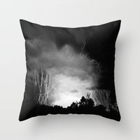 Coming Out Of The Darkne… Throw Pillow