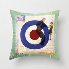 Swing! Throw Pillow